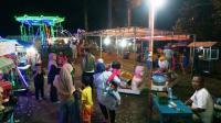 Aksi Kejahatan Pasar Malam dan Penjagaan Aparat Kepolisian