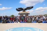 245 Siswa Lebanon Kunjungi Markas Pasukan Garuda Indobatt di Lebanon Selatan
