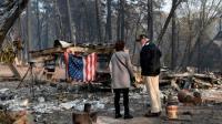 Kebakaran Hutan California: Korban Tewas Terus Bertambah, Trump Tinjau Kerusakan