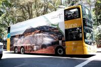 Keren, <i>Branding</i> Wonderful Indonesia <i>Mejeng</i> di Bus <i>Double Decker</i> Australia