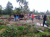 Puluhan Rumah di Luwu Utara Rusak Akibat Diterjang Angin Puting Beliung