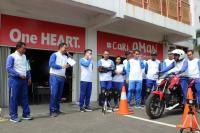 10 Bikers Indonesia Geber Honda RC213V-S Moto GP Versi Jalan Raya