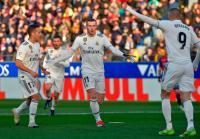 Solari Sebut Bale dan Courtois Jadi Pahlawan Madrid Atasi Huesca