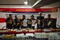 Gencar Lakukan Penindakan, Bea Cukai Jateng dan DIY Selamatkan Rp55 Miliar Uang Negara