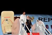 Presiden Bertolak ke Aceh Usai Hadiri Peluncuran Buku