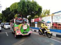 Keliling Kota Naik Odong-Odong, Awasi Anak Agar Tak Diputarkan Lagu Vulgar
