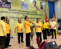 Airlangga Minta Golkar Aceh Solid Menangkan Pileg 2019