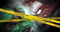 Truk Trailer Tabrak Pembatas Jalan Tol Ancol, Sopir Terluka