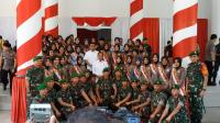 Jokowi Minta Babinsa Mengawal Dana Desa