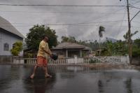 Tiga Kecamatan di Minahasa Tenggara Terdampak Erupsi Gunung Soputan