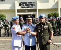 Maruli Simanjuntak Resmi Jabat Danpaspampres Gantikan Suhartono