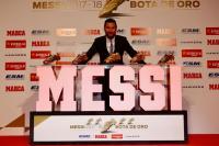 Messi Masih Tak Percaya Menangkan Sepatu Emas Eropa yang Kelima