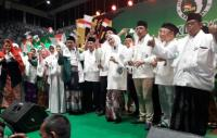 Khofifah & Jaringan Kiai Santri Nasional Jakarta Deklarasi Dukung Jokowi-Maruf