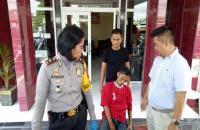 Sangar saat Beraksi, Bandit Motor Ini Meringis di Kantor Polisi