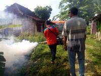 6 Warga Terserang Demam Berdarah, Rescue Perindo Asapi Dukuh Balong