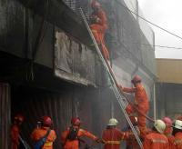 Ruko di Pasar Enjo Pulogadung Terbakar, Diduga Disebabkan Korsleting Listrik