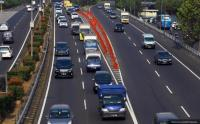 Jam Pulang Kerja, Sejumlah Tol di Jakarta Terpantau Padat