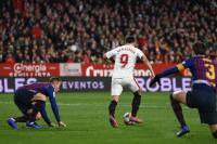 Boateng Debut, Barcelona Justru Takluk 0-2 dari Sevilla