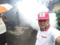 6 Warga di Sukarami Palembang Terserang DBD, Perindo Lakukan Pengasapan
