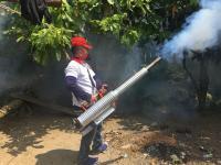 6 Warga Terserang DBD, Perindo Langsung Fogging 2 Dusun di Bangun Bandar