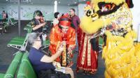 Sambut Imlek 2019, Ratusan Lampion Hiasi Bandara Ahmad Yani Semarang
