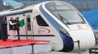 Kereta Cepat India Rusak dalam Perjalanan Perdananya, Diduga Karena Menabrak Sapi