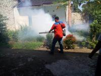5 Anak di Tuban Terserang DBD, Caleg Perindo Langsung Gelar <i>Fogging</i>