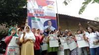 Caleg Perindo Gelar Sosialisasi dan Makan Bareng Warga di Kota Bogor