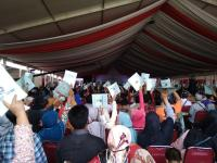 Usai Dikritik Prabowo, Jokowi Kembali Salurkan 5.000 Sertifikat Tanah untuk Warga Tangerang