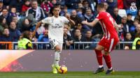 Kalah 1-2 dari Girona, Vazquez Tetap Optimis Madrid Bisa Juara Liga Spanyol