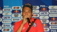 Hamka Hamzah Ajak Suporter Persib dan Arema Penuhi Stadion Si Jalak Harupat