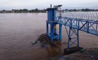 Debit Air Sungai Batanghari Meningkat, Masyarakat Diminta Waspada