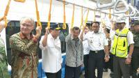 Wapres JK Tinjau Kesiapan Proyek MRT Sebelum Diluncurkan