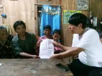 Warga Miskin Curhat ke Caleg Perindo: Sempat Coba Akhiri Hidup karena Tak Mampu Berobat