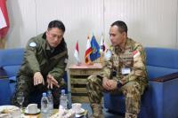 Silaturahmi Kontingen Republik Korea di Camp Konga, Tingkatkan Sinergitas Pasukan UNIFIL