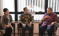 Jokowi ke Ani Yudhoyono: Kami dan Seluruh Rakyat Indonesia Mendoakan untuk Kesembuhan Ibu