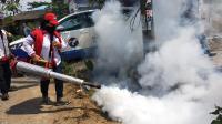 Caleg Perindo Gelar <i>Fogging</i> Gratis di Perumnas Martubung Medan