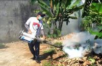 Antispasi DBD, Caleg Perindo Beri Fogging Gratis untuk Warga