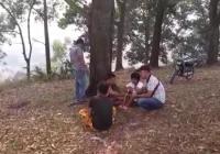 Tiga Remaja Terciduk Asyik Menghisap Ganja di Dekat Kuburan