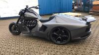 Lamborghini Aventador Ini Hanya Memiliki Roda Tiga
