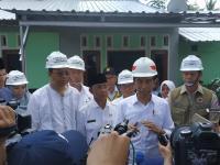 Jokowi Janji ke Lombok Lagi untuk Pantau Pembangunan Rumah Tahan Gempa