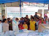 Istri Kapolri Bantu Pulihkan Psikologis Anak-Anak Korban Banjir Sentani