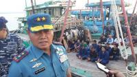 TNI AL Amankan 3 Kapal Ikan Asal Vietnam