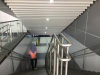 Kondisi MRT Jakarta Masih Lengang Usai Diresmikan Presiden Jokowi