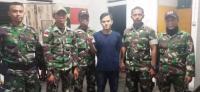 Selipkan Sabu di Helm, WN Malaysia Ditangkap Petugas Perbatasan