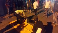 Pemotor Tewas Mengenaskan Usai Tabrak Rombongan Ojol di Bekasi