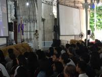 Gereja Katedral Gelar Ibadah Jumat Agung dan Prosesi Jalan Salib