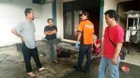Gas 3 Kg Bocor, 4 Tukang Bakso Terbakar di Kontrakannya