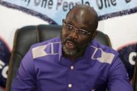 2 Ular Muncul di Kantor, Presiden Liberia George Weah Bekerja dari Rumah
