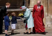 Ratu Elizabeth Rayakan Ulang Tahun ke-93 di Acara Paskah